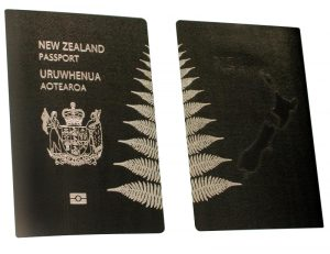 pasaportes del mundo Nueva Zelanda pasaporte diseño