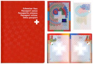 pasaportes del mundo diseño pasaporte suiza