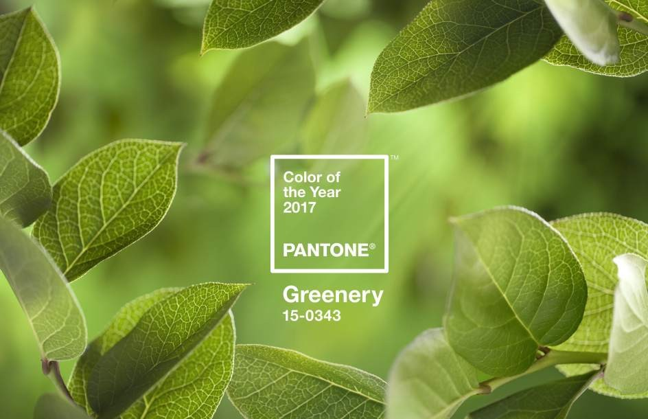 Tendencias Diseño 2017 Greenery